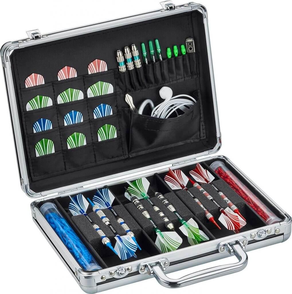 Casemaster legion aluminium dart case