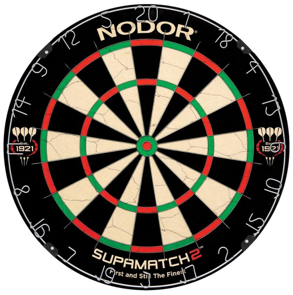 Nodor SupaMatch Bristle Dartboard