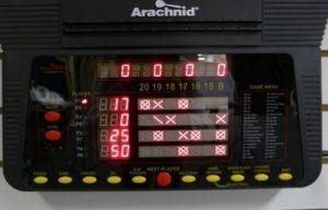 Arachnid cricket pro 800 dashboard score keeping