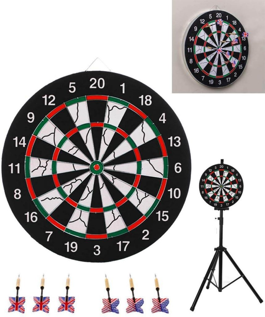 SPRAWL Dart Board Game Set
