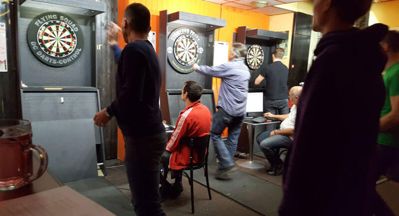about the Darts Dojo team