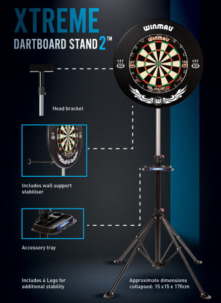 Winmau Xtreme Stand Features