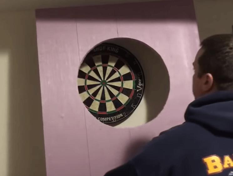 DIY dartboard backboard