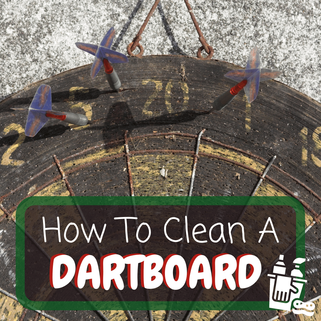 How to Clean a Dartboard