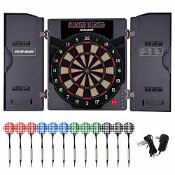 WIN.MAX Electronic Soft Tip Dartboard Set