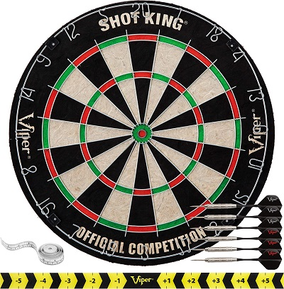 Viper Shot King Outdoor Dartboard Set